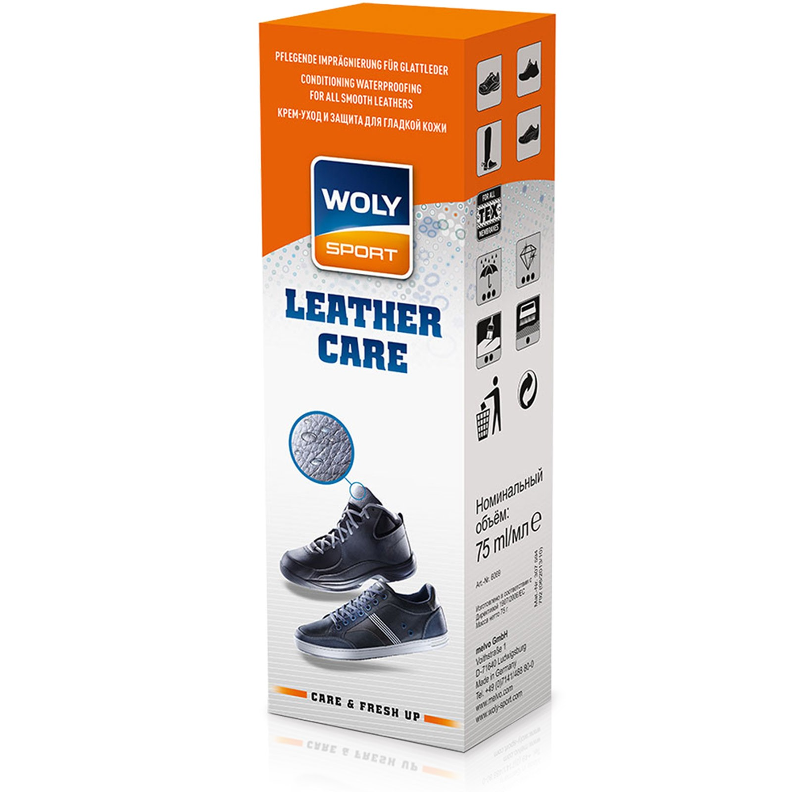 Woly Sport Leather Care Black