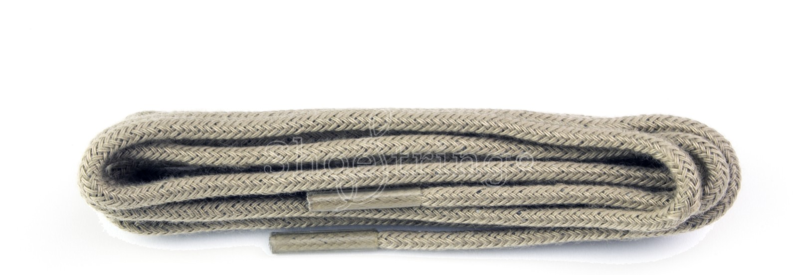 Taupe Fine Round Laces