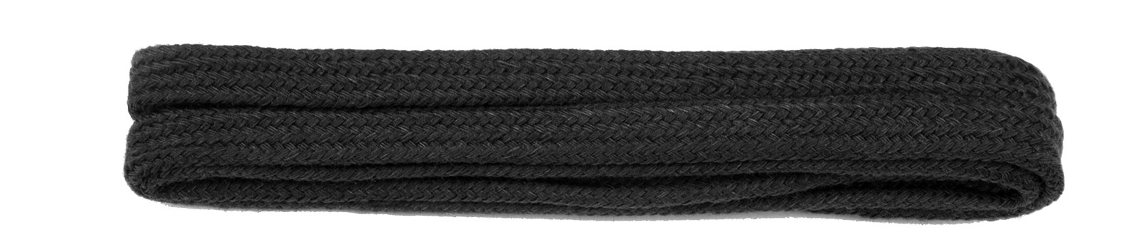 Black Fine Flat Laces