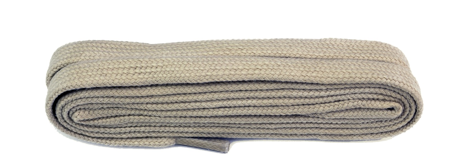 Taupe Flat 9mm Laces
