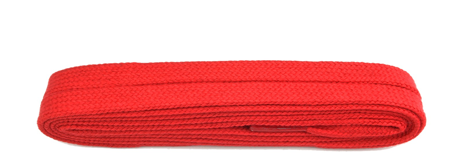 Red Flat 9mm Laces