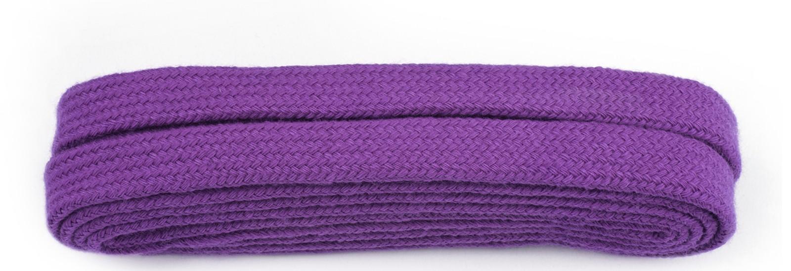 Purple Flat 9mm 100cm
