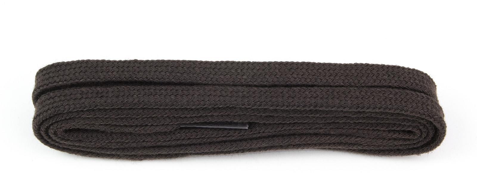 Dark Brown Fine Flat Laces
