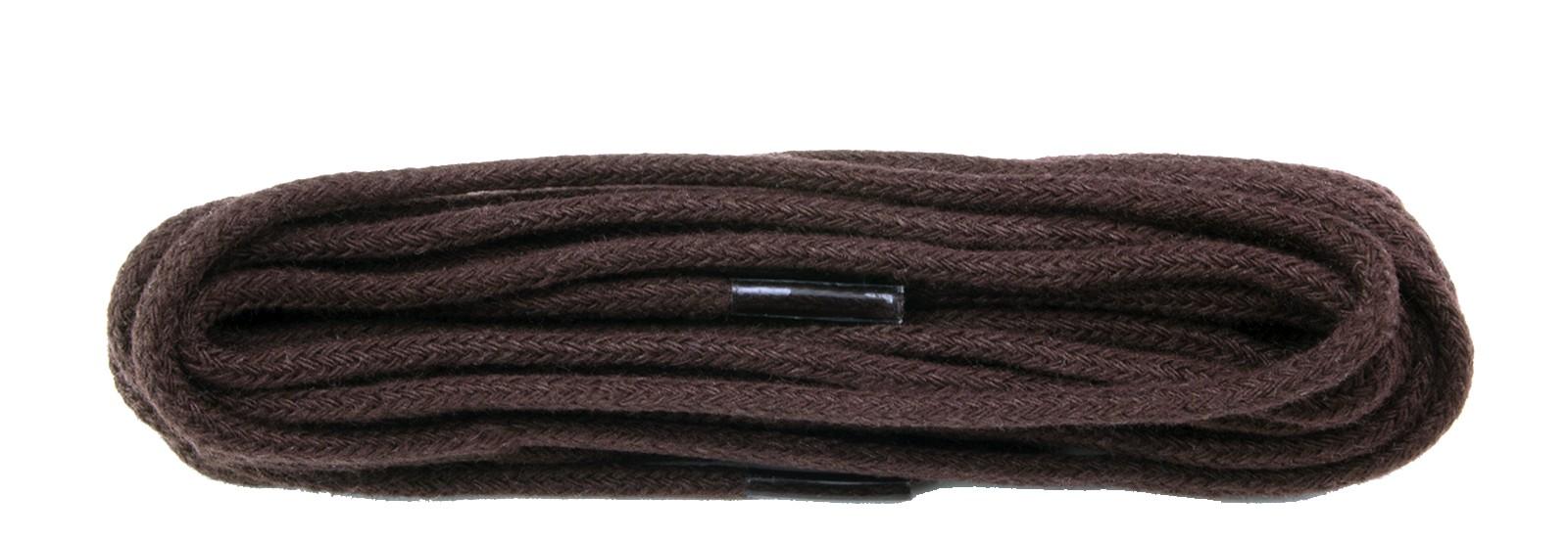 Dark Brown Fine Round Laces