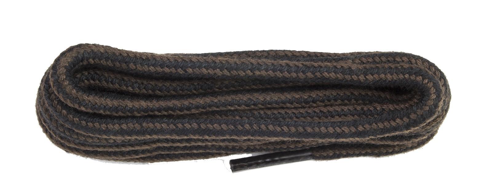 Kicker Brown/black Round Cord Laces