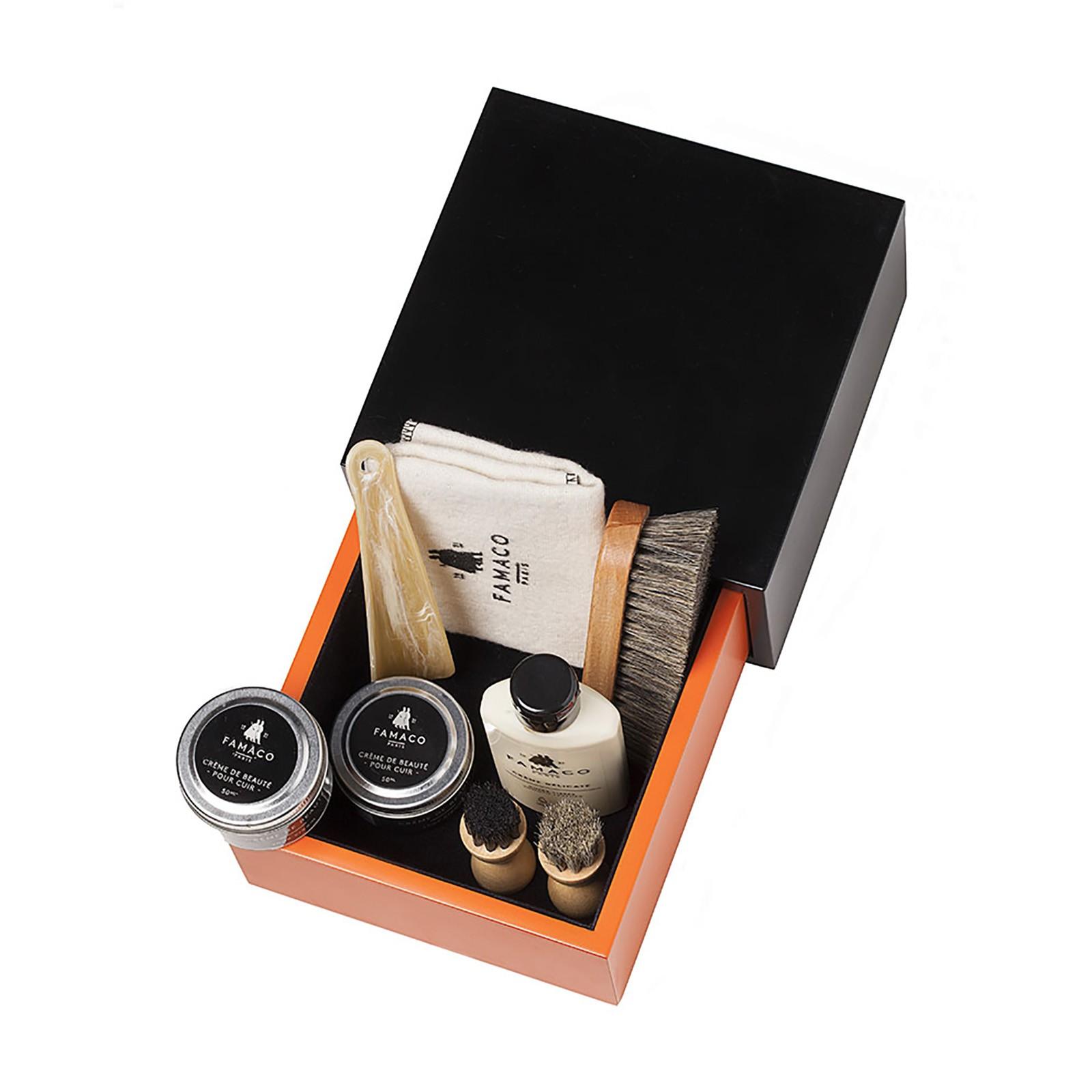 Famaco Cezanne Kit Box Black/orange - Filled
