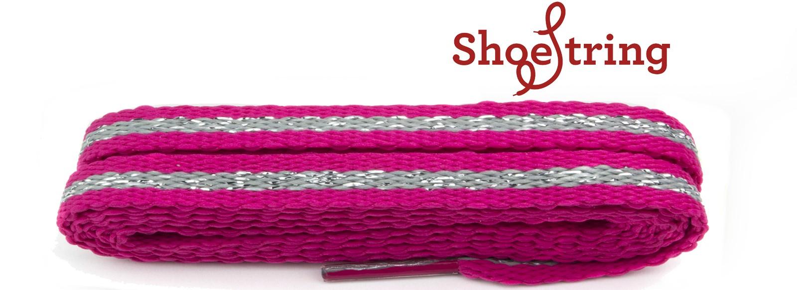 Fashion Pink & Silver Stripe