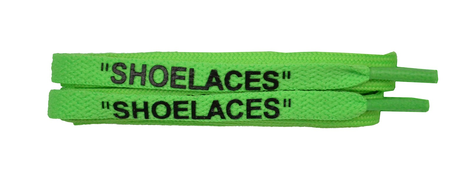 "Neon Green 120cm Flat ""shoe Lace"""