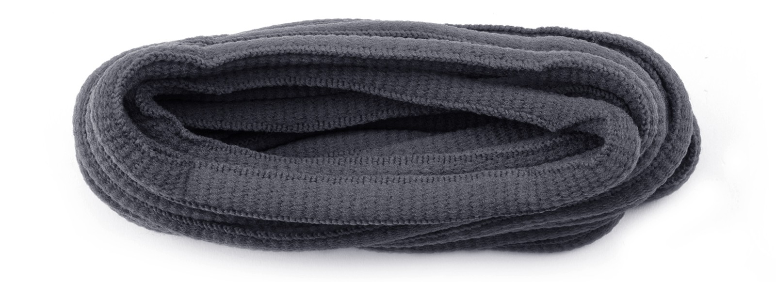 Grey Oval Laces 6mm 114cm