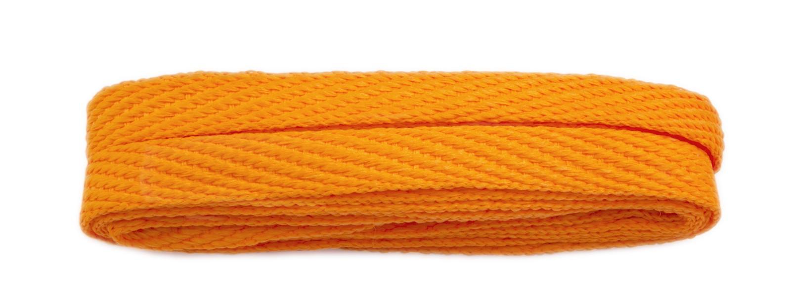 Orange 120cm American Flat 10mm Banded
