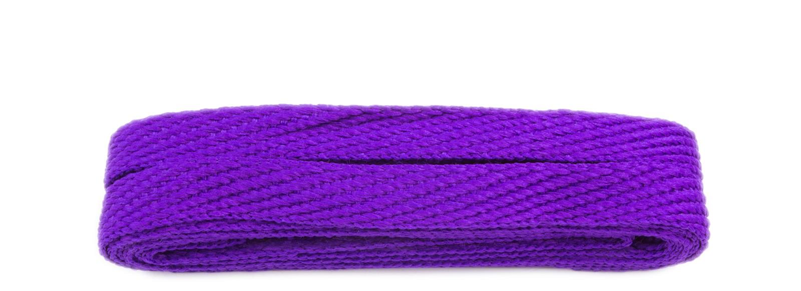 Purple 120cm American Flat 10mm Banded