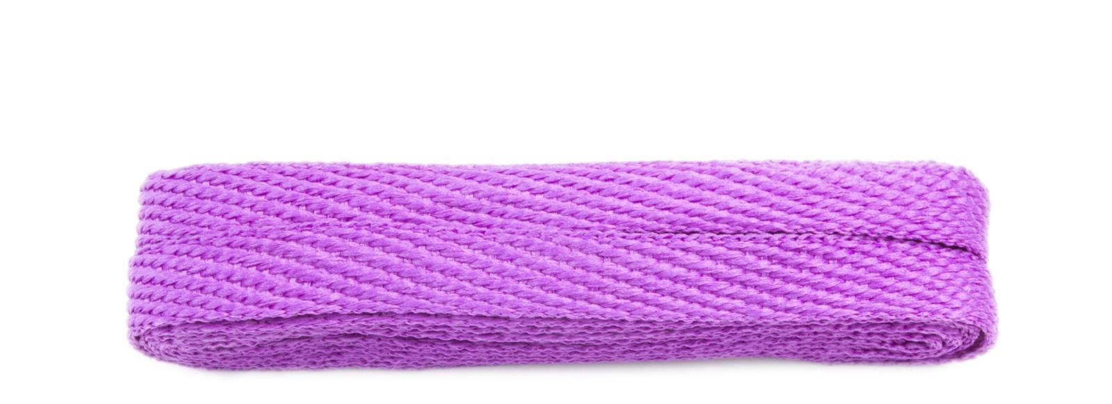 Violet 120cm American Flat 10mm Banded