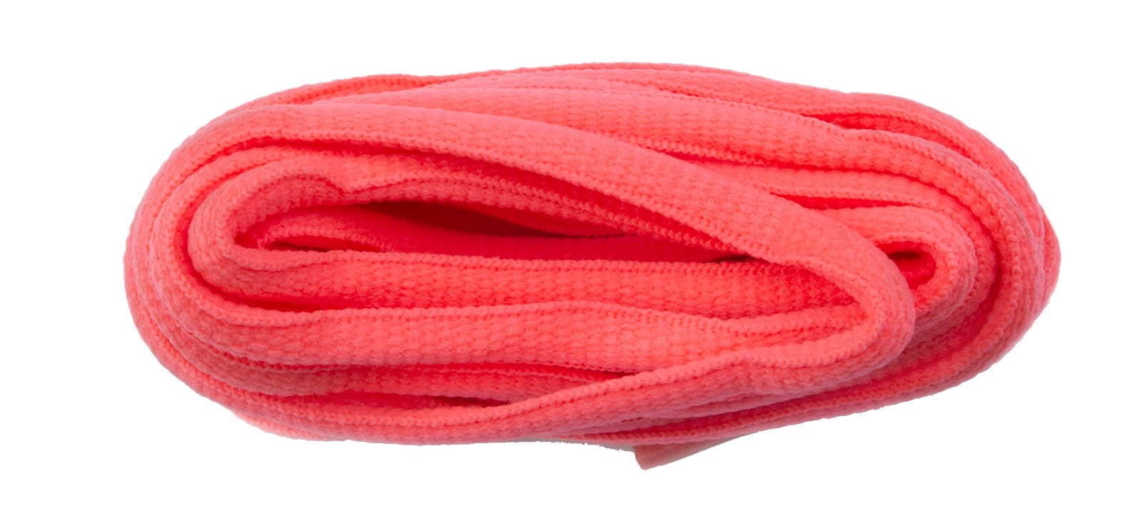 Flo Pink Oval Laces 6mm