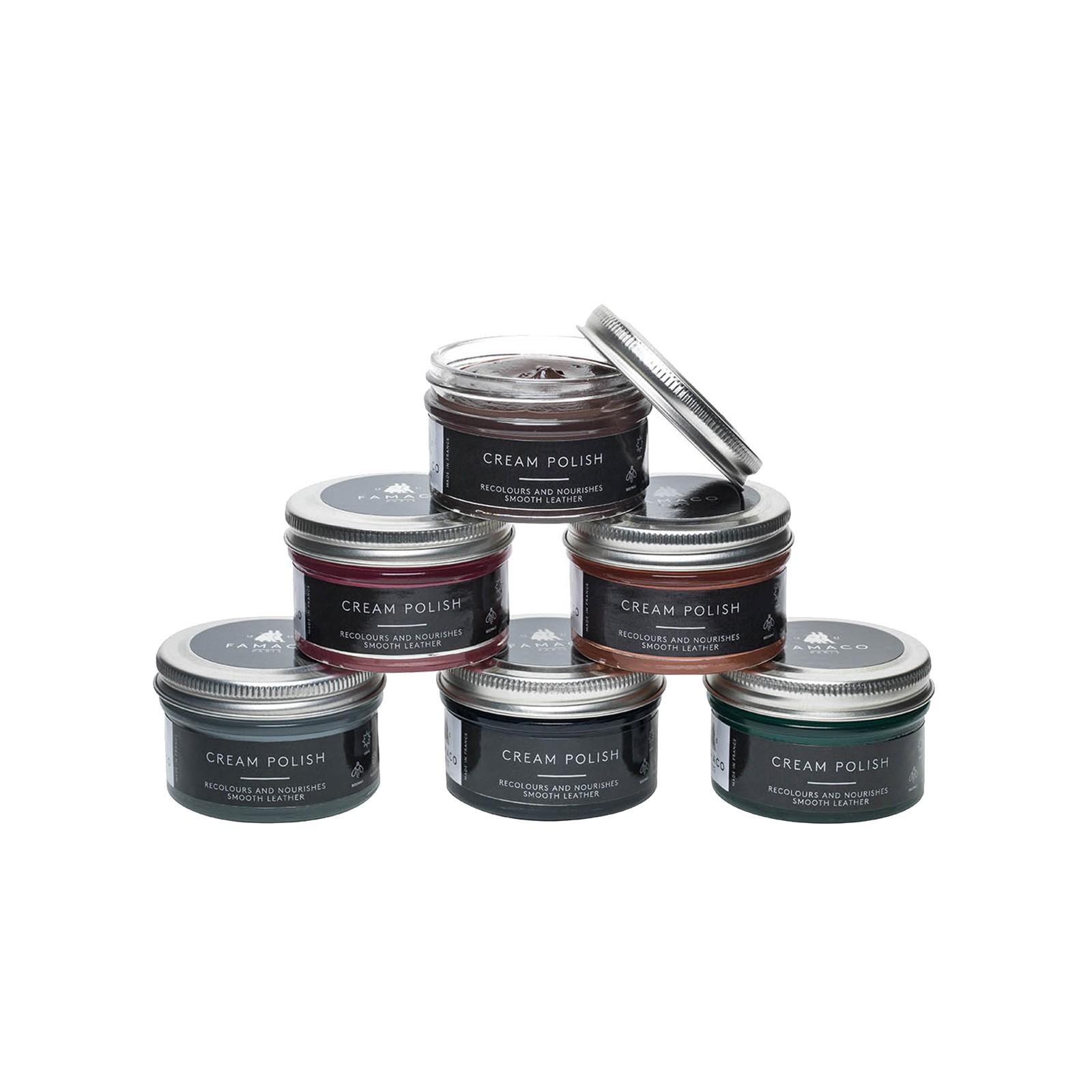 Famaco Leather Deluxe Cream Polish Select Colour