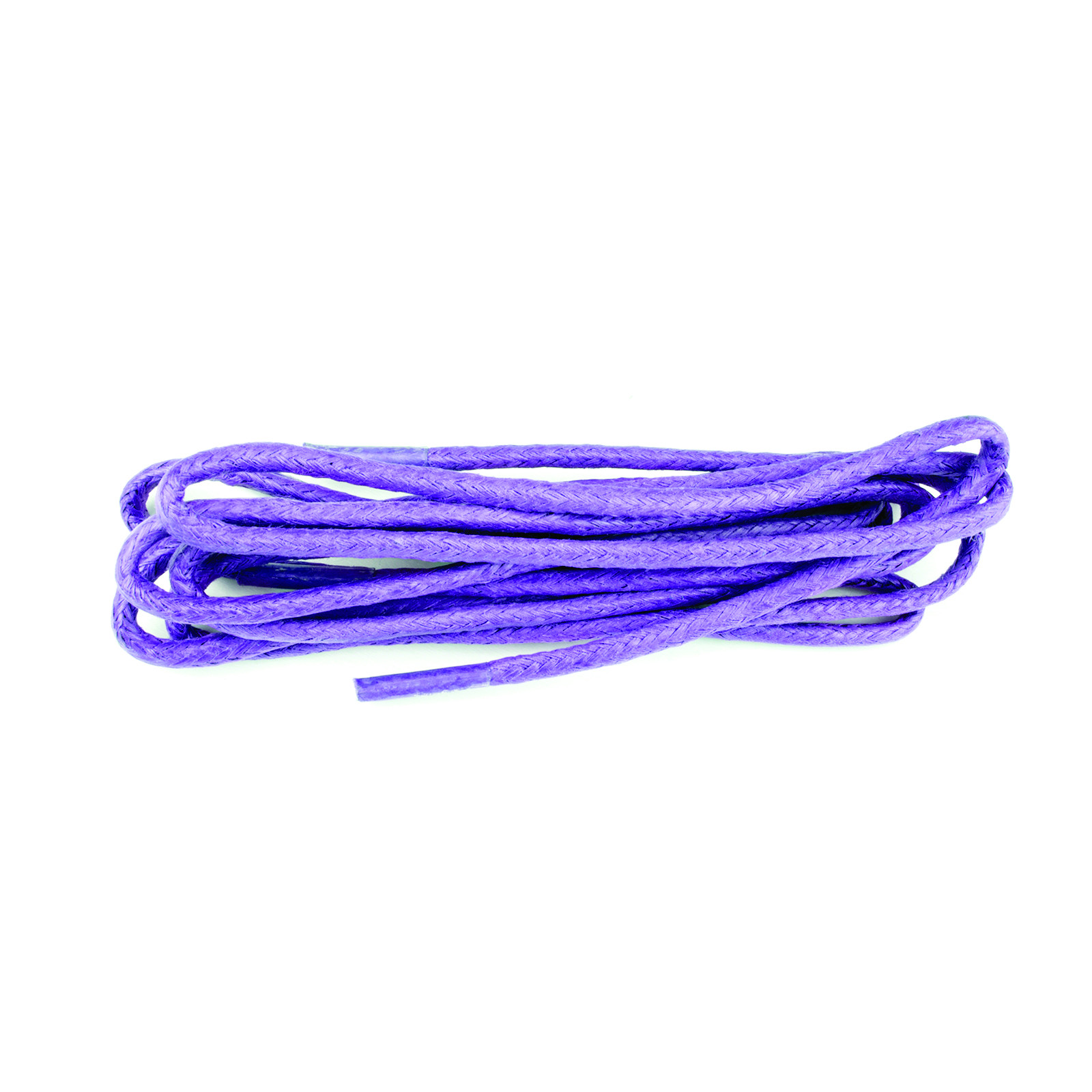 Lilac 75cm Waxed 3mm Round Laces