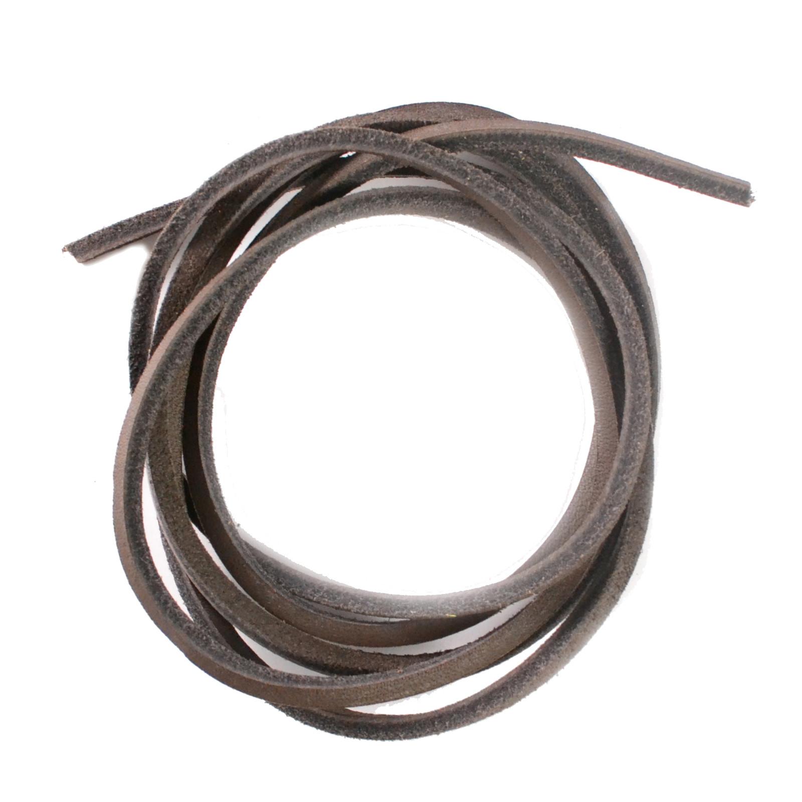 Dark Brown 120cm Leather