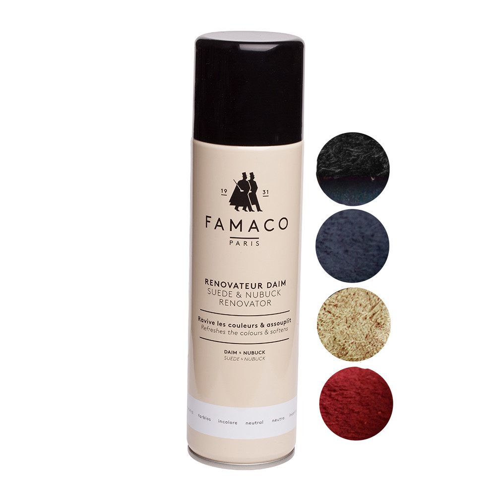 Famaco Suede & Nubuck Renovator 250ml Spray