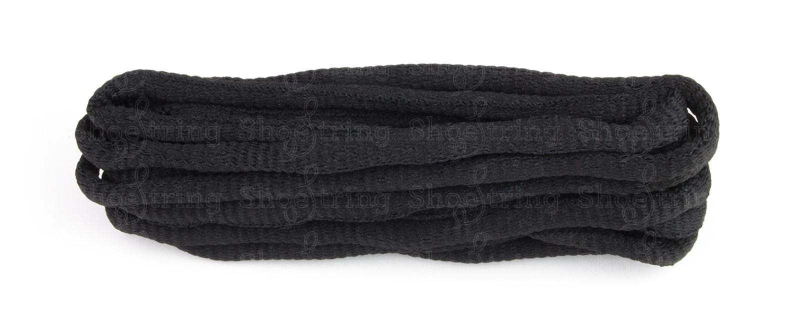Black Knobbly Oval Firm Knot 114cm