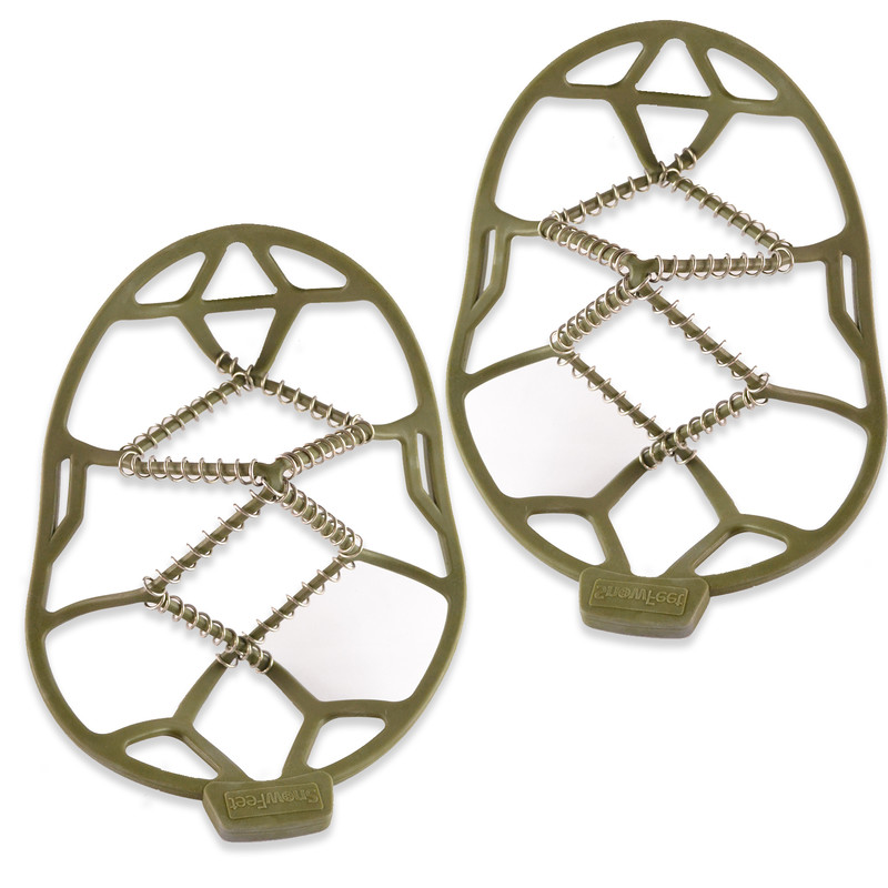 Shoestring Snow Feet Green Medium Size2-9 Loose