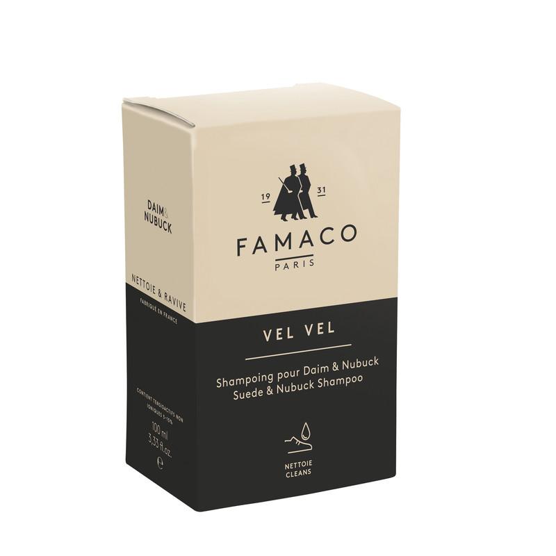 Famaco Vel Vel Suede Shampoo With Brush 100 Ml