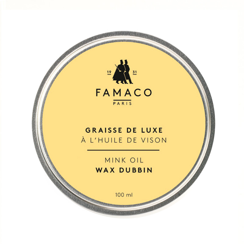 Famaco Mink Oil Tin Dubbin 100ml