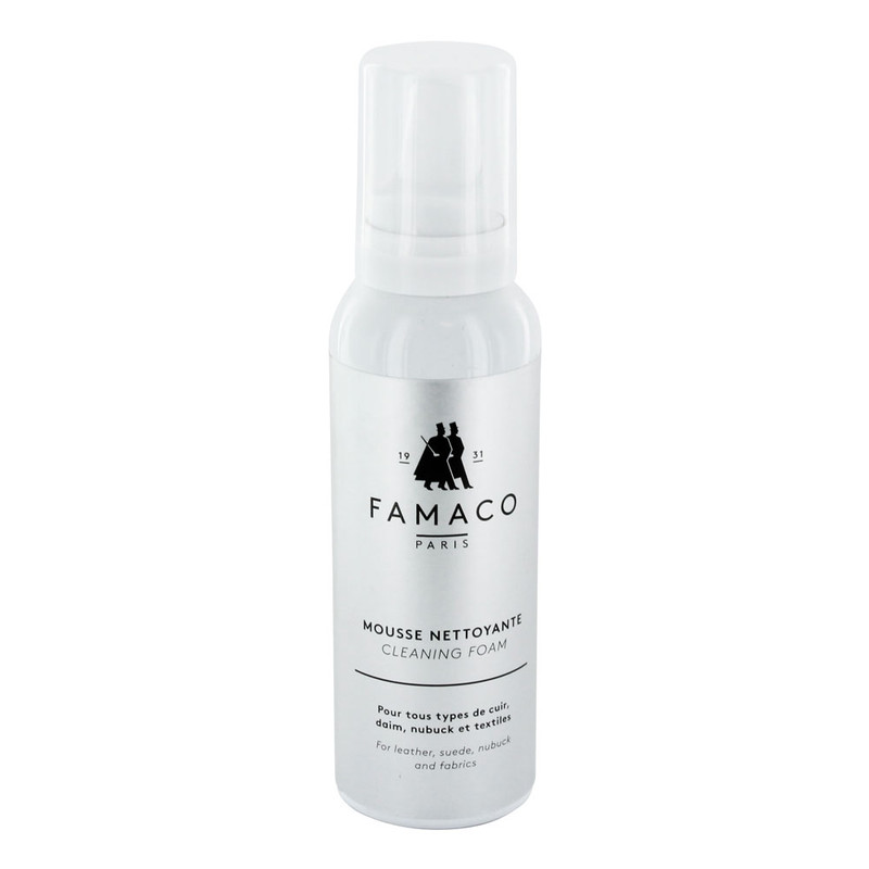 Famaco Cleaner Mousse  Leather, Suede & Fabric Spray