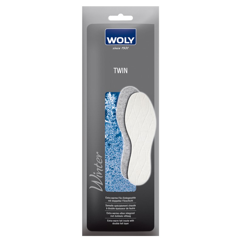 Woly Twin Insoles Select Size