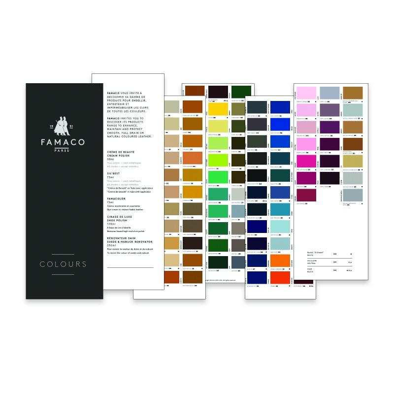 Famaco Colour Chart