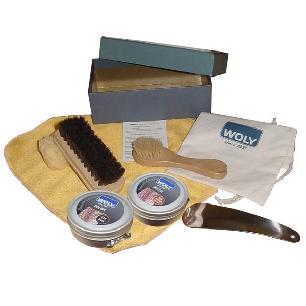 Woly Kit Shoe Care Box - Add Polish