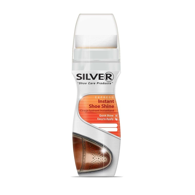 Silver Brand Liquid Instant Shine Bottle 75ml