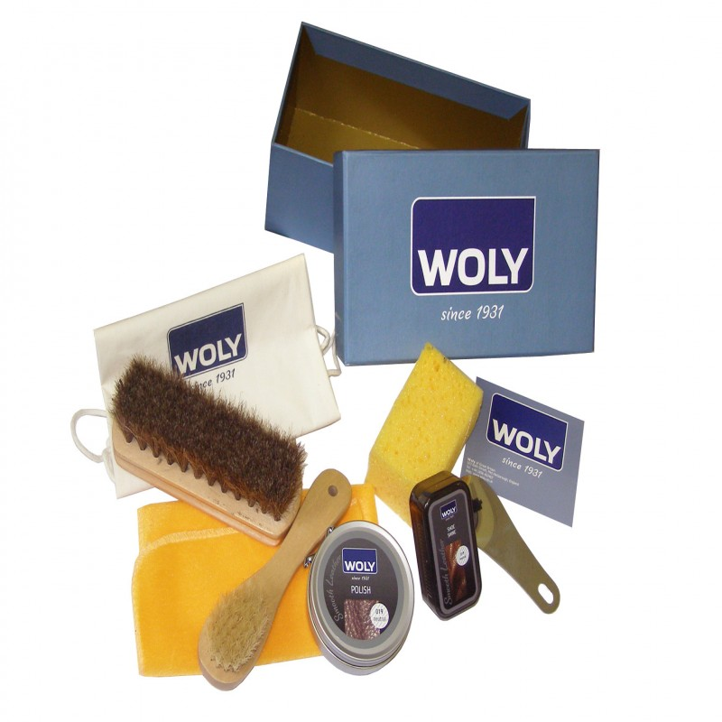 Woly Kit Shoe Care Box - Add Polish