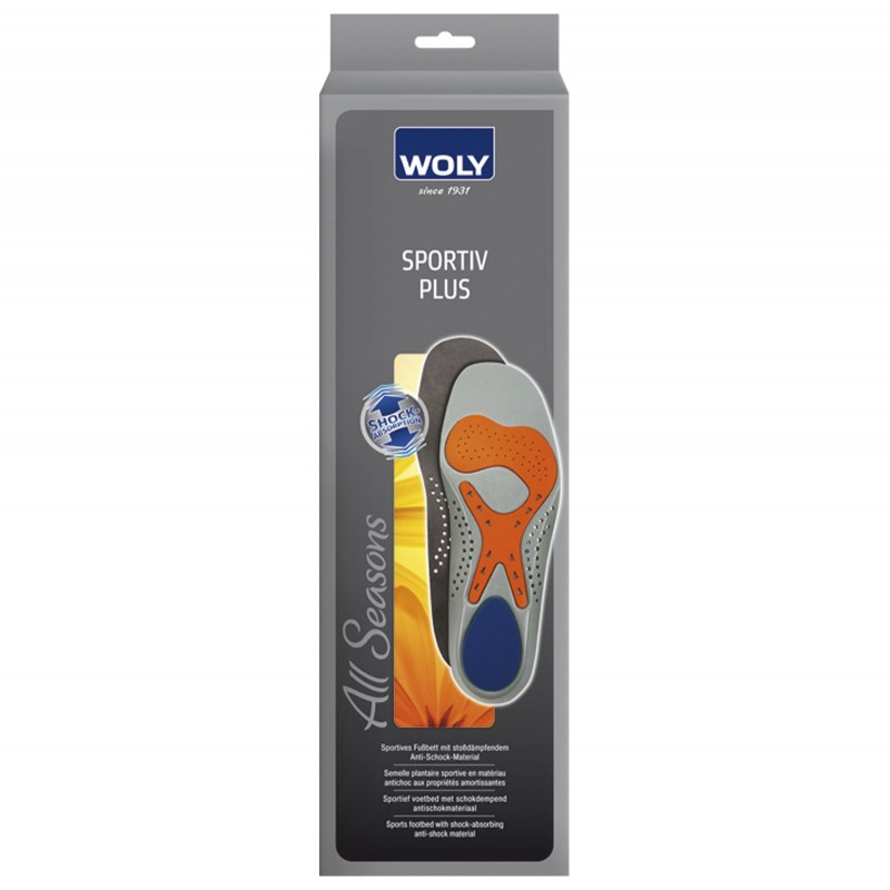 Woly Sportiv Plus Insoles Select Size