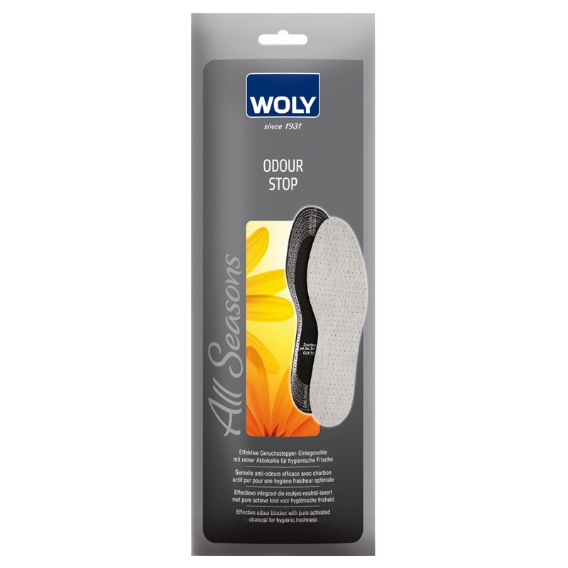 Woly Odour Stop Insoles Cut To Fit
