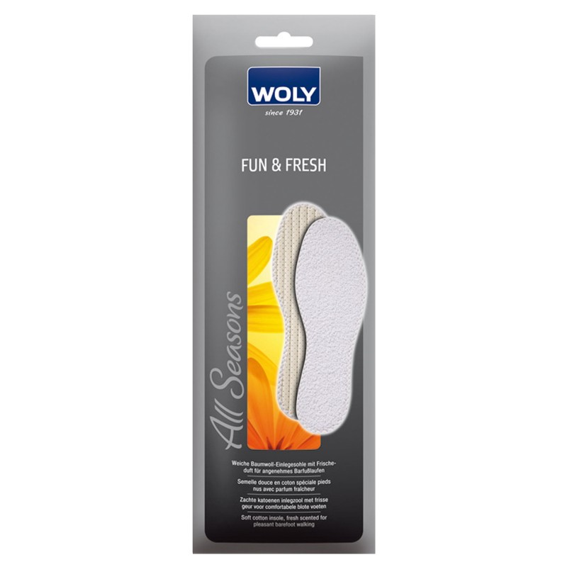 Woly Fun & Fresh Insoles Select Size