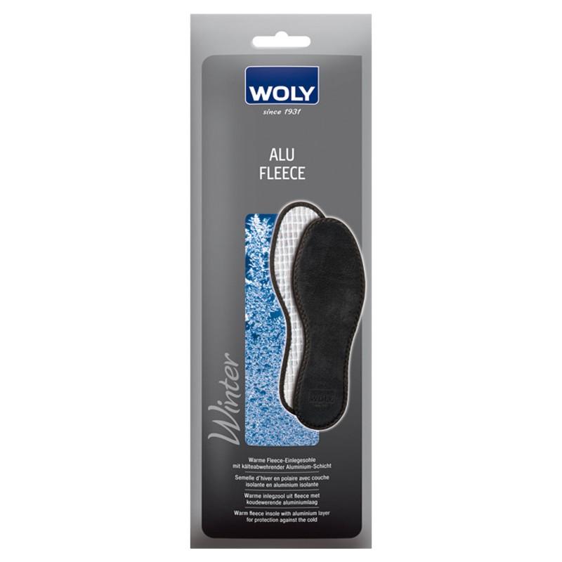 Woly Alu Fleece Insoles Select Size