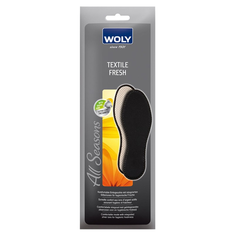 Woly Textile Fresh Insoles Select Size