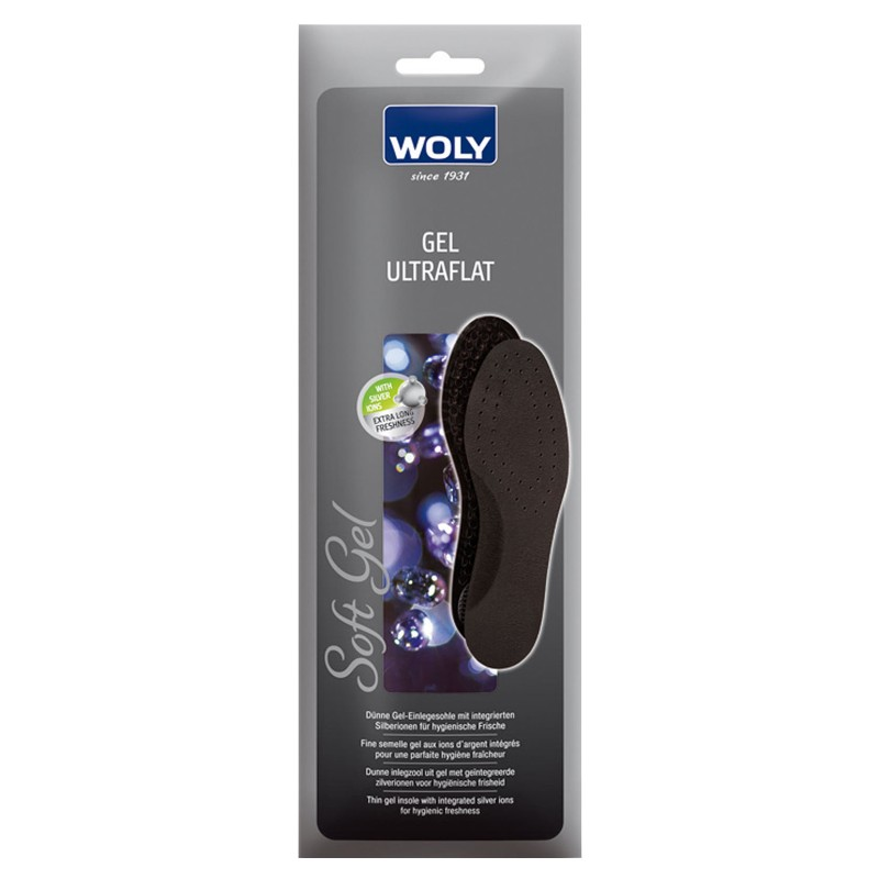 Woly Gel Ultra Thin Insoles Select Size
