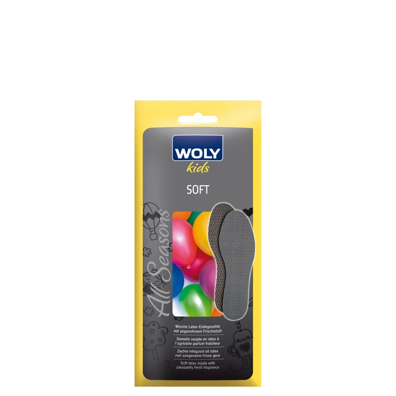 Woly Soft Childs Insoles Select Size