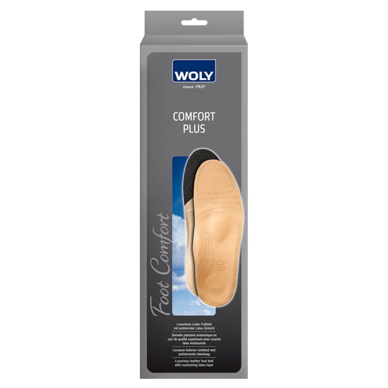 Woly Comfort Plus Insoles Ladies Select Size