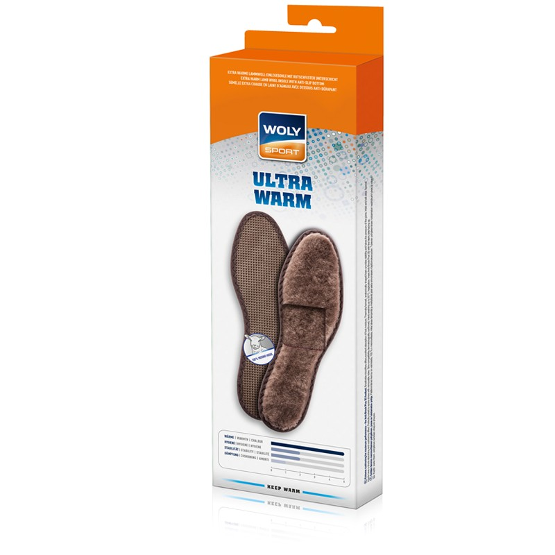 Woly Ultra Warm Insoles Select Size