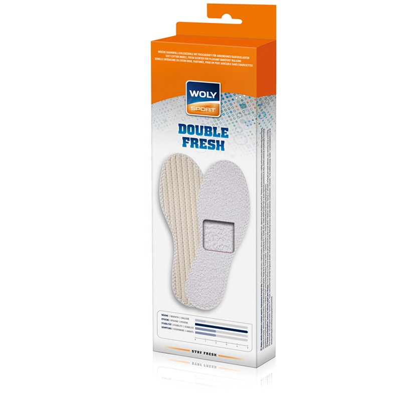 Woly Double Fresh Insoles Select Size