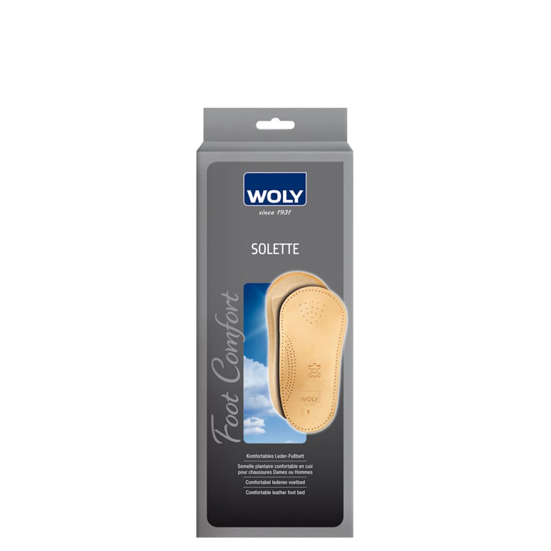 Woly Insoles Solette Select Size