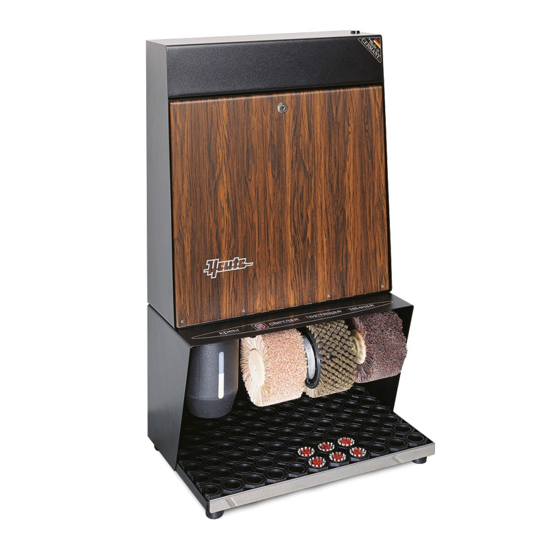 Heute Ronda Wood Shoe Shine Machine