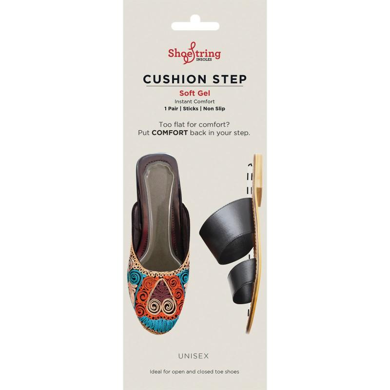 Shoe String Cushion Step Single Pairs