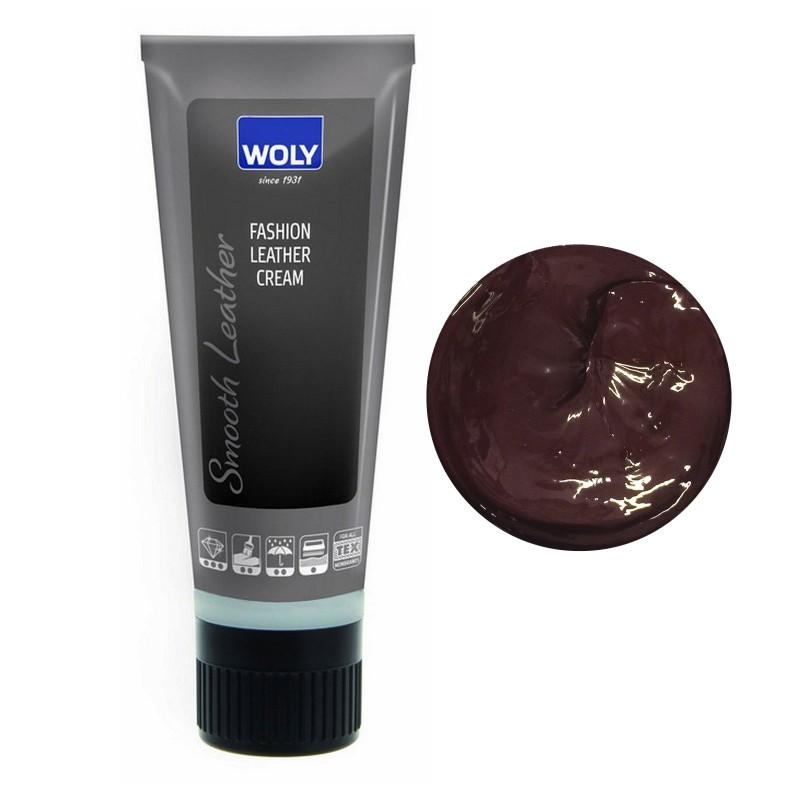 Woly Purple Fashion Leather Cream