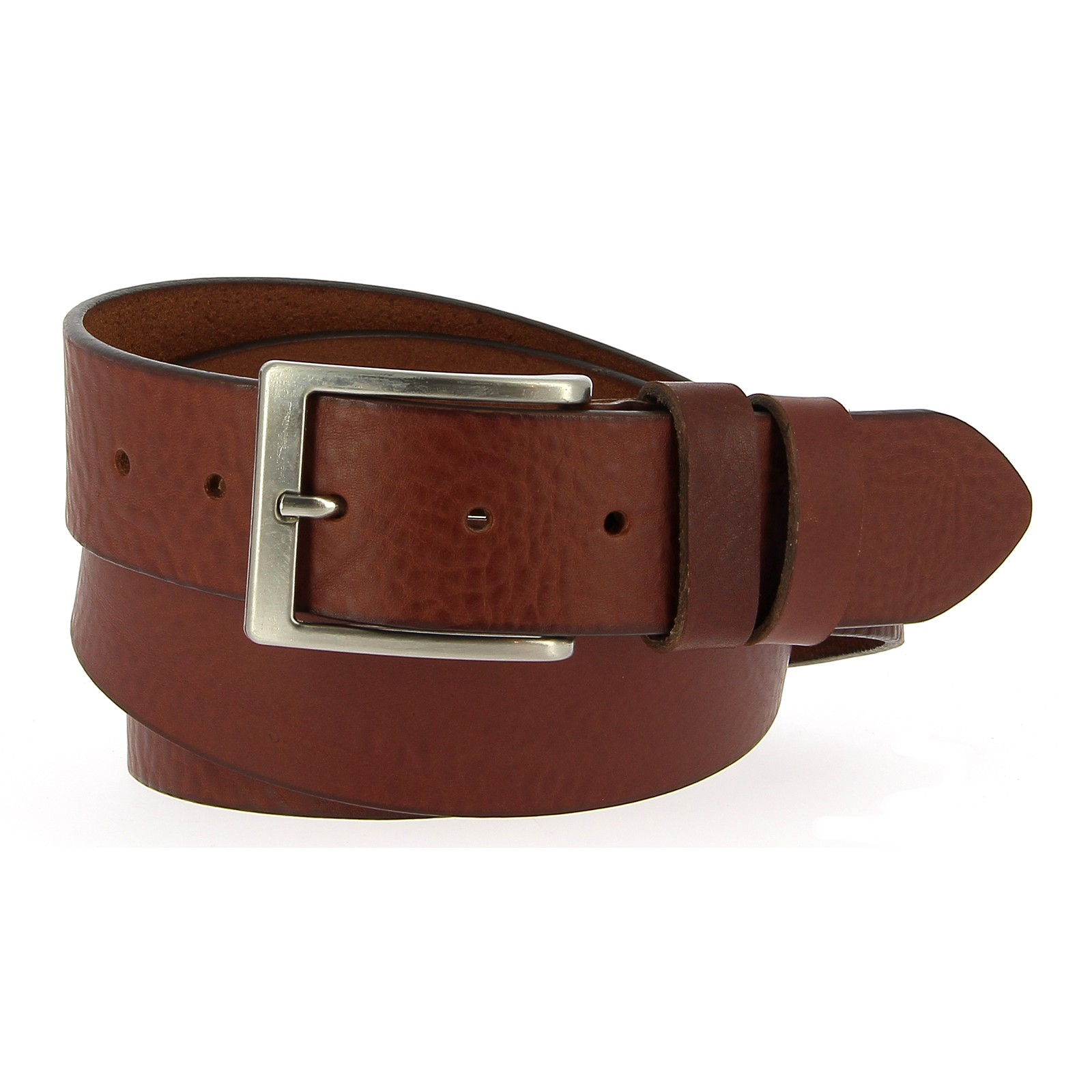 Belts Leather 40mm 130cm Jean Medium Brown