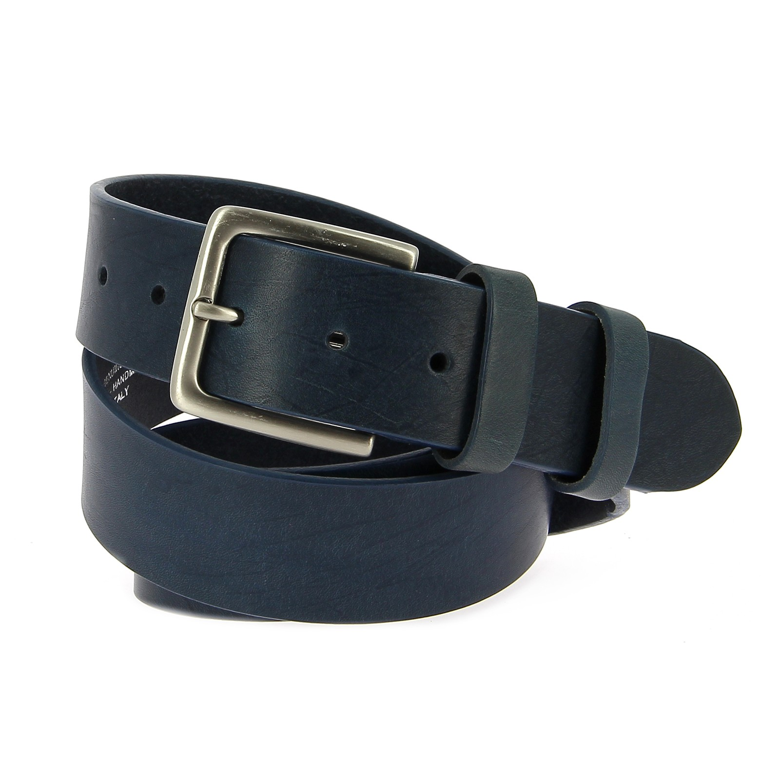 Belts Leather 40mm Jean Medium Blue