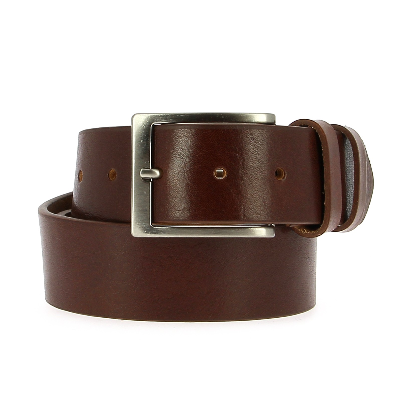 Belts Leather 35mm 130cm Jean Dark Brown