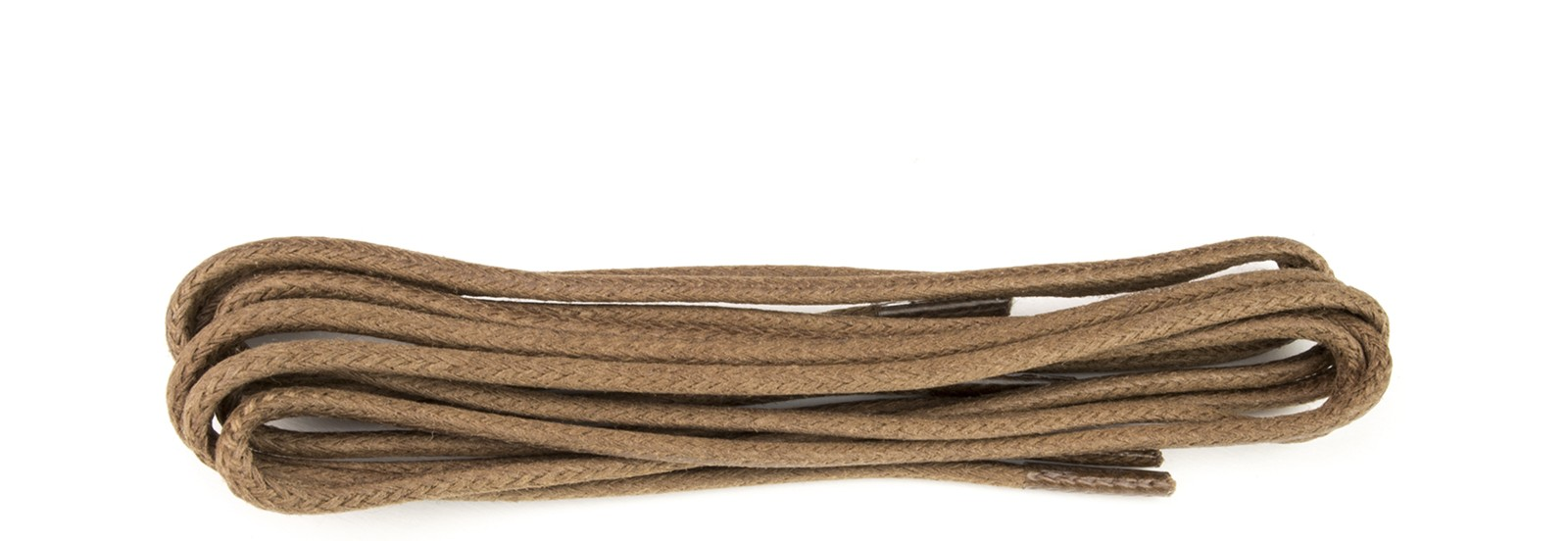 Tan Wax Polished Fine 2mm Round Laces Laces