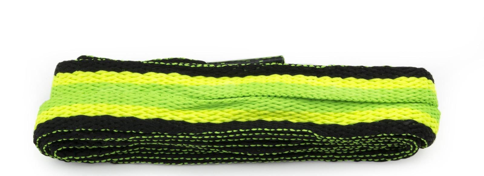 Sneaker Green/yellow/black Stripe